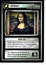 STAR TREK CCG Q CONTINUUM RARE CARD MONA LISA