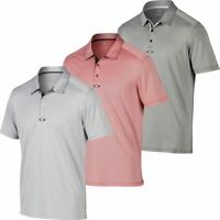 Oakley Mens O'Hydrolix Crafted Performance Short Sleeve Golf Polo Shirt