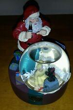 Coca Cola Christmas Santa Claus Snow Globe