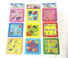 Arabic 9 Jigsaw  puzzles Game Alphabets buy set Eid Gift