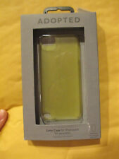 ADOPTED - APPLE IPOD TOUCH 5TH GENERATION - LENS CASE - CITRON GREEN