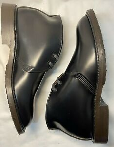 RED WING Caverly Chukka Boots 9096 Black Leather Men's 7.5 USA $450 NEW