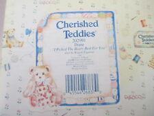 Cherished Teddies Diane Figurine Retired Mib