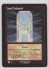 1995 Shadowfist Collectible Card Game Standard Base Set #NoN Last Outpost 2ts