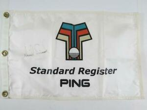 Anika Sorensen Hand Signed Autographed Golf Flag - Messina Estate