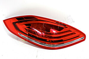 PORSCHE Panamera Facelift 2013- LED Tail Light Rear Lamp ECE Left OEM