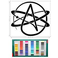 atheist vinyl car sticker, decal, window laptop oracal 651 hf1215359