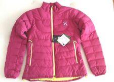 Was £200! Womens HAGLOFS Bivvy II Q Down Jacket. Medium M. barrier insulated