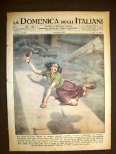 La Domenica degli Italiani del Corriere 9 dicembre 1945 Marsili Sant'Anna Coppi
