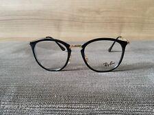 1200c648d32dc7 Ray Ban Brillenfassung Brille Gestell Mod. RB 7140 2000 49-20 Schwarz Gold w