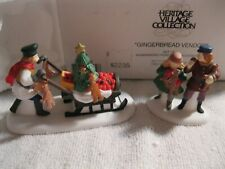 Department 56 Heritage Village Gingerbread Vendor