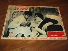 Fotobusta,1963,I MOSTRI ,DINO RISI,Vittorio Gassman  Ugo Tognazzi. 1 EDIZIONE