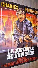 LE JUSTICIER DE NEW YORK charles bronson  affiche cinema mascii
