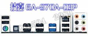 OEM  I/O Shield For  GA-970A-D3 /GA-970A-D3P BACKPLATE