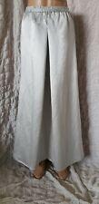 Amazing Eileen Fisher 65% linen 35% silk grey maxi skirt size XS