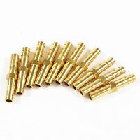 10 Pcs 6mm straight in  Water Pipe Connector Brass Fittings