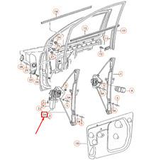 Volkswagen FOX 5Z Front Right Door Window Regulator 5Z3837462A NEW GENUINE
