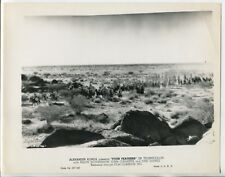 """Four Feathers 8""""x10"""" Black and White Promotional Still Alexander Korda G"""