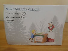 Dept 56 New England Village - Christmas Cookie Special - Nib