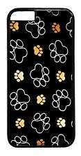 Paws Paw Pattern Dog Cat Pet Cute Case Rubber/Hard Cover For iPhone 6/6s Plus