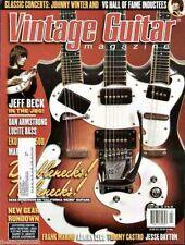 Vintage Guitar Magazine April 2005 Doublenecks, Triplenecks, Jeff Beck, Lucite