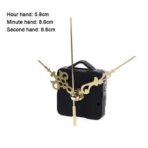 Quartz Clock Movement Mechanism Hands Wall Repair Tool Parts Silent Kit Sets_cd