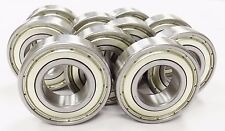 (10) R8-ZZ Premium Bearings, ABEC3/C3 1/2 x1-1/8 x 5/16 w/ EMQ Grease R8Z(3P216)