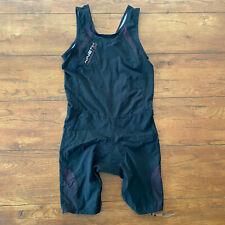 Kinetik Womens Large Compression Triathlon Suit Trisuit Skinsuit Cycling Swim L