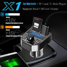 Kit Manos Libres Bluetooth Inalámbrico Transmisor de FM LCD MP3 REPRODUCTOR