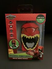New Power Ranger Dino Charge Universal Power Boost Bank For All Mobile Devices