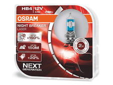 HB4 (9006) OSRAM Night Breaker LASER (NBL) Halogen Headlight Bulbs + 150% NEW!