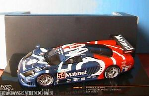 IXO 1:43 SALEEN S7R  #54  Le Mans 2007    GREAT LOOKING MODEL CAR    LMM122  L1