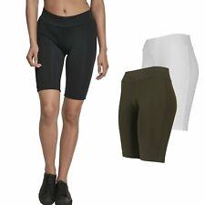 Urban Classics Ladies-cycle sport fitness Stretch Shorts
