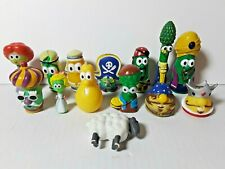 Lot of 14 Veggie Tales Figures Pirates That Don't Do Anything Nativity