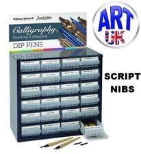 William Mitchell Calligraphy SCRIPT PEN NIBS writing draw italic