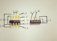 Male and female set of spring top connector antenna thimble M1533/4P
