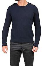 Lange Herren-Pullover & -Strickware aus Mischwolle ohne Verschluss
