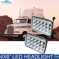 2PCS LED Headlights Sealed Beam Headlamp For FREIGHTLINER FLD120 112 FLD