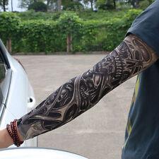 Unisex Temporary Fake Slip On Tattoo Arm Sleeves Kit New Fashion High Quality ID