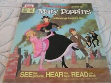 Walt Disney Story of Mary Poppins Book ( No Tape ) 1964 Paperback