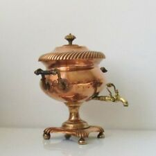 Antique Rare Red Copper Brass Samovar Hot Water/Tea Coffee Urn