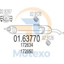 MTS 01.63770 Exhaust PEUGEOT 205 1.9 GTi, CTi, Gentry 100bhp 07/89 - 12/96