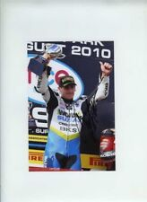 Tommy Hill Worx Crescent Suzuki BSB 2010 Signed 15