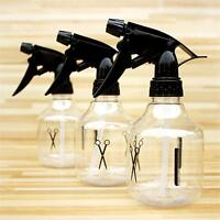 Clear Plastic Spray Atomiser Bottle Pump Trigger Cosmetic Water Hair Salon UK.