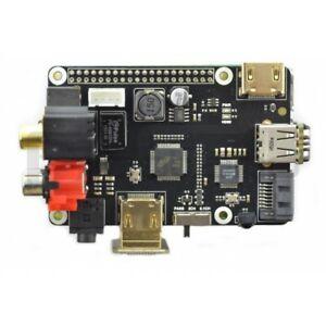 Expansion Shield x600 for Raspberry Pi B+/2B/3B multimedia Audio Video SATA