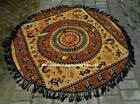 Indian Mandala Round Roundie Beach Blanket Tapestry Hippie Yoga Mat Shawl Throw