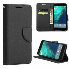 Wallet ID Card Case for LG Harmony/K20 Plus magnetic + Glass Screen Protector