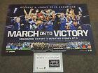 Melbourne Victory 2015 A-League OFFICIAL Champions Team Print Berisha + COA