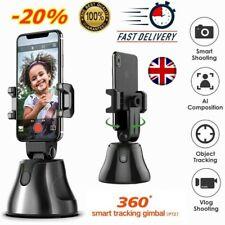 360° Rotation Face Tracking Smart AI Gimbal Personal Robot Cameraman Cell Phone`