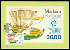 Madera MK turismo peschereccio Fishing Boat carte MAXIMUM CARD MC cm au41